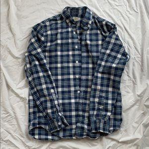 J Crew Flannel Oxford size S